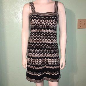 Black and white Missoni for target dress sz M